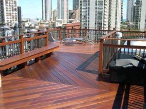 Rooftop decking